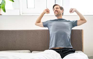 Produkte für erholsamen Schlaf